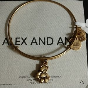 """ALEX AND ANI RETIRED """"LITTLE BROWN BEAR"""" BRAND NWT"""